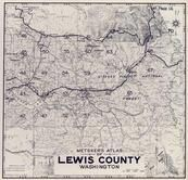 Index Map, Title Page 2, Lewis County 1960c